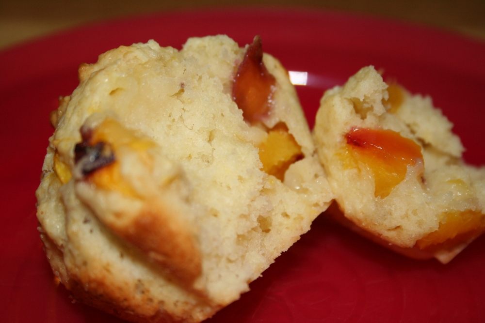 Peaches and Cream Muffins (5/5)